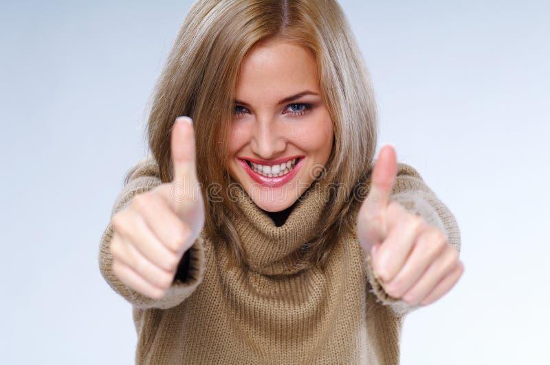 γυναίκα επιτυχίας στοκ εικόνες με δικαίωμα ελεύθερης χρήσης