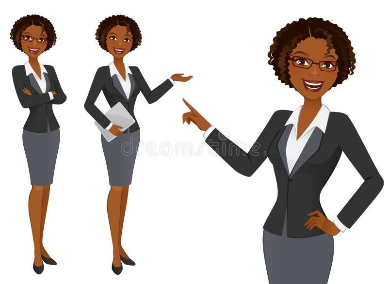 γυναίκα 2 επιχειρήσεων διανυσματική απεικόνιση