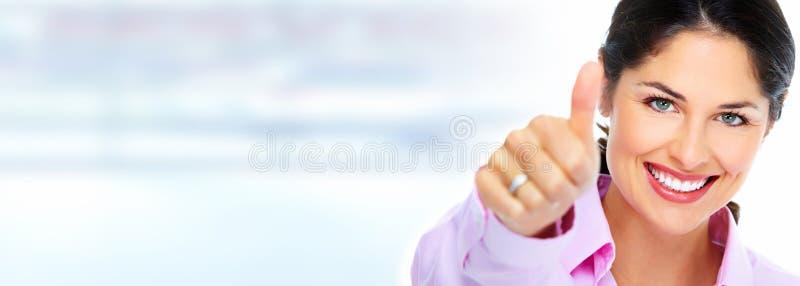 γυναίκα 2 επιχειρήσεων στοκ εικόνες