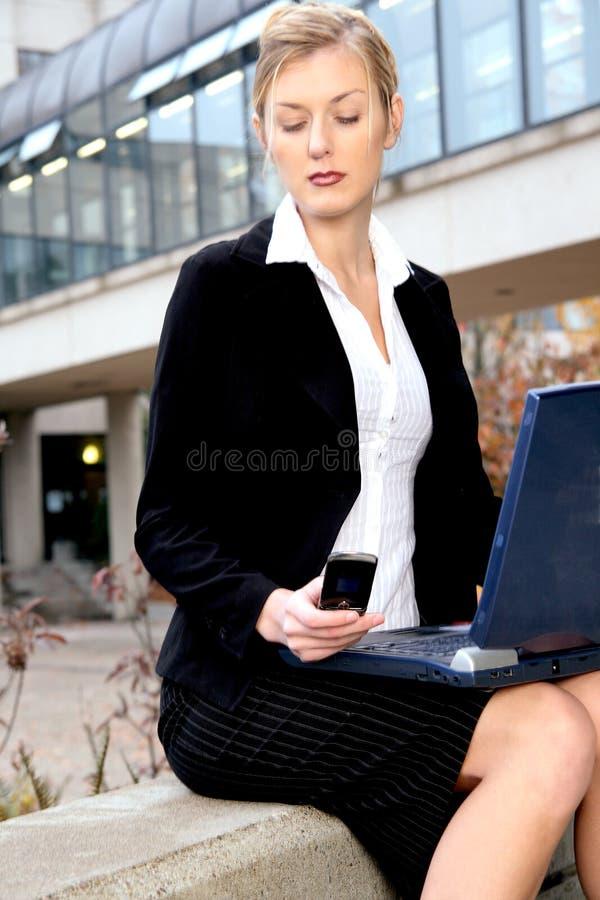 γυναίκα επιχειρησιακού πορτρέτου στοκ εικόνες