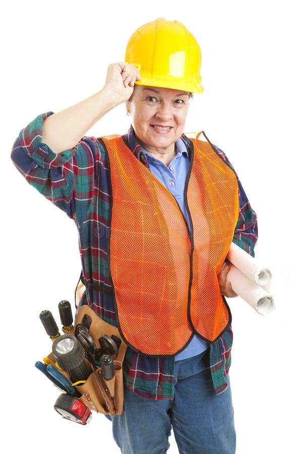 γυναίκα ευγενικός εργ&alph στοκ φωτογραφίες με δικαίωμα ελεύθερης χρήσης