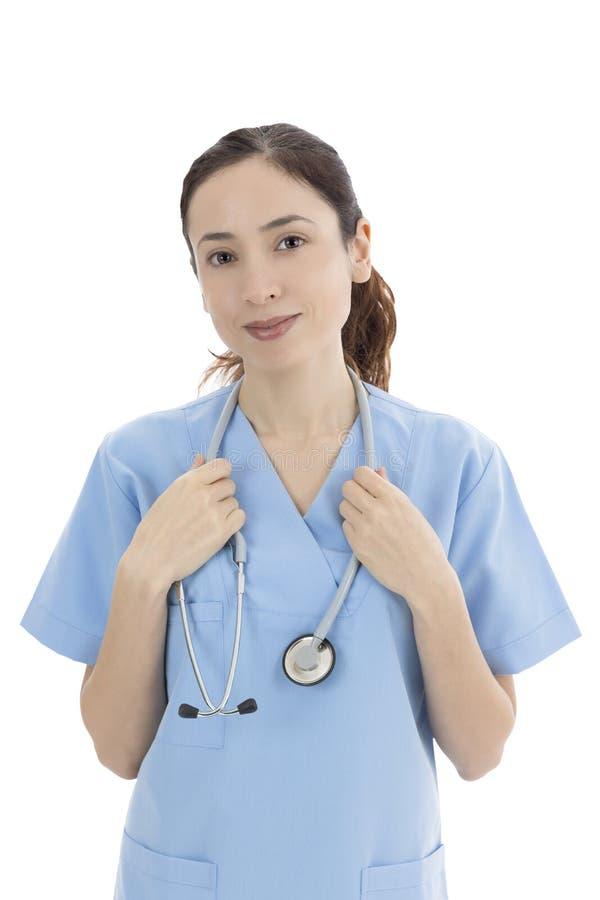 Γυναίκα ιατρικός εργαζόμενος στοκ φωτογραφίες