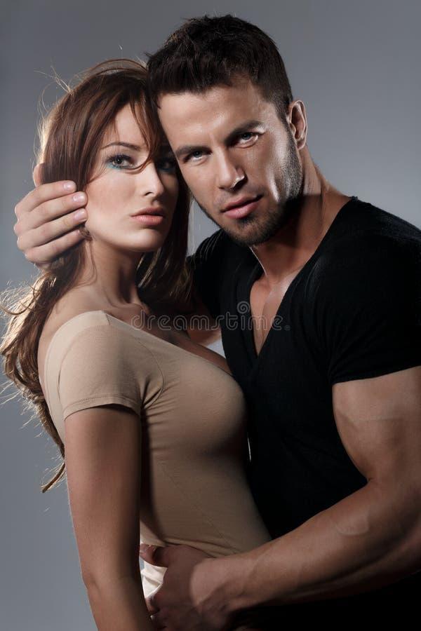 Γυναίκα και άνδρας πάθους στοκ εικόνες με δικαίωμα ελεύθερης χρήσης