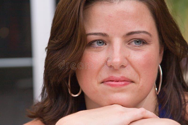 γυναίκα κινηματογραφήσ&epsilo στοκ εικόνες