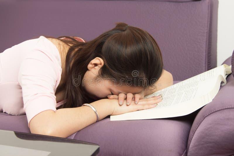 Γυναίκα κούρασης στοκ εικόνες