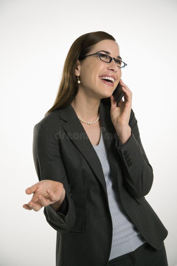 γυναίκα κυττάρων στοκ φωτογραφία με δικαίωμα ελεύθερης χρήσης