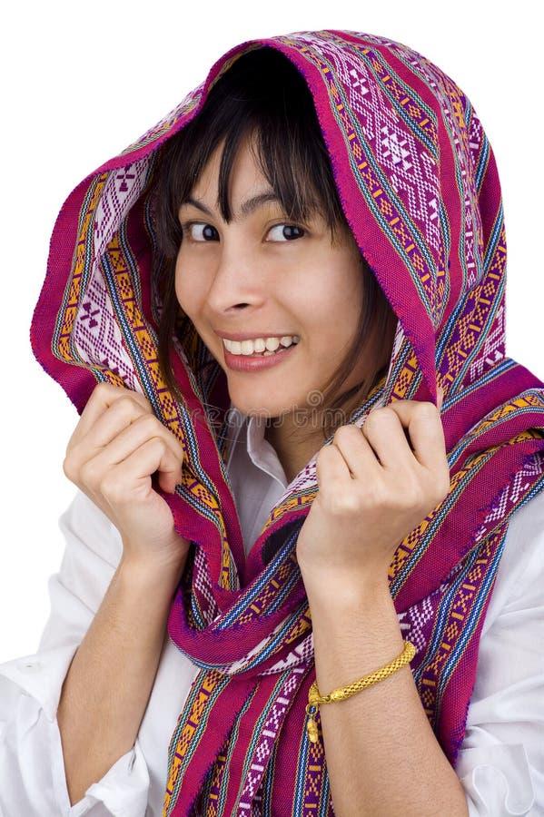 γυναίκα μαντίλι στοκ φωτογραφίες με δικαίωμα ελεύθερης χρήσης