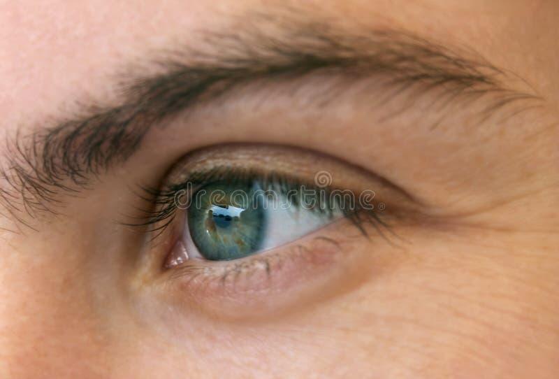 Download γυναίκα ματιών στοκ εικόνες. εικόνα από eyelash, ίριδα - 386190