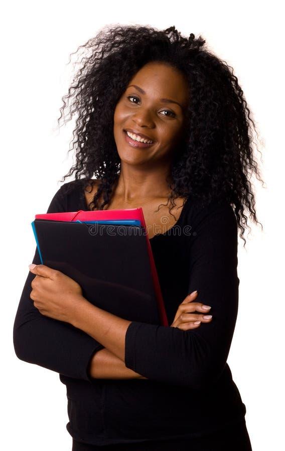 Γυναίκα με τις γραμματοθήκες στοκ εικόνες με δικαίωμα ελεύθερης χρήσης