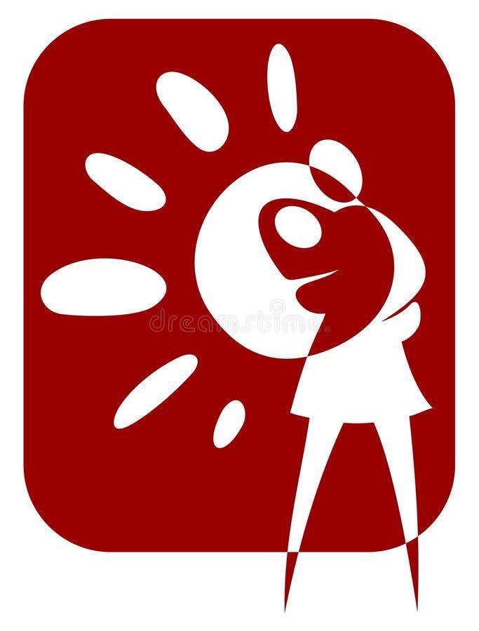 γυναίκα μωρών ελεύθερη απεικόνιση δικαιώματος