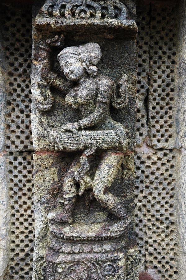 γυναίκα ναών αγαλμάτων orissa τη&s στοκ εικόνες με δικαίωμα ελεύθερης χρήσης