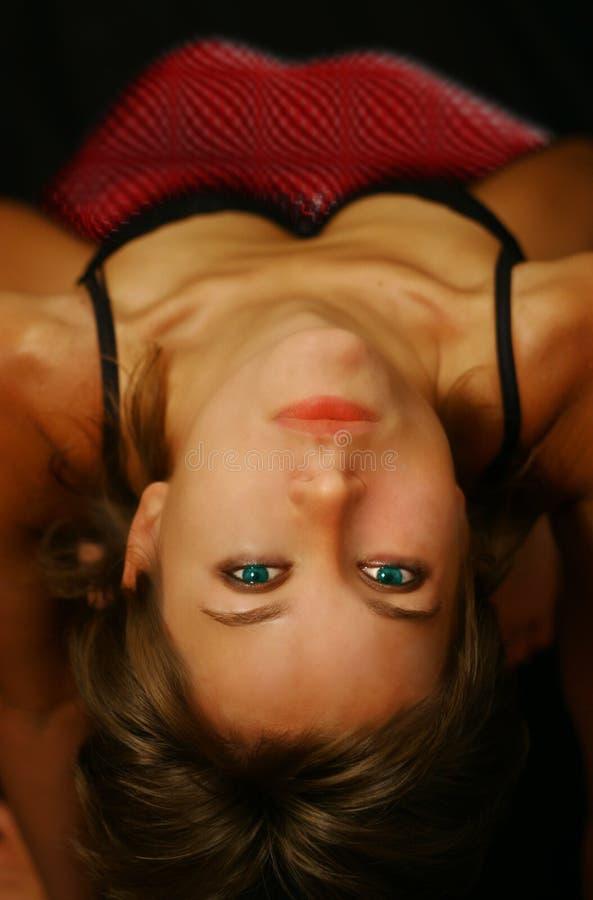 γυναίκα νύχτας στοκ φωτογραφία με δικαίωμα ελεύθερης χρήσης