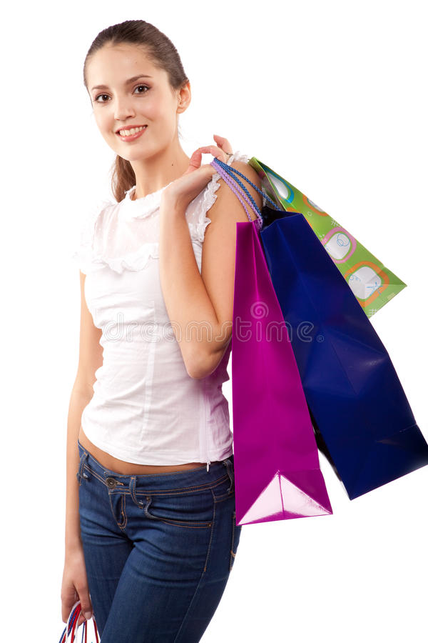γυναίκα πελατών στοκ φωτογραφία με δικαίωμα ελεύθερης χρήσης