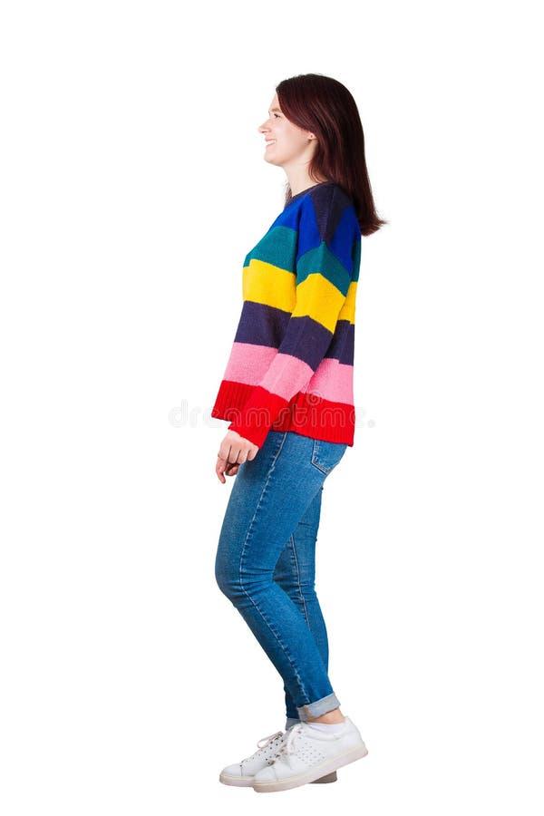 Γυναίκα πλάγιας όψης στοκ φωτογραφία με δικαίωμα ελεύθερης χρήσης