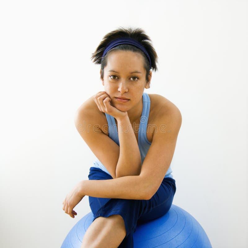 γυναίκα πορτρέτου ικανότη στοκ εικόνα με δικαίωμα ελεύθερης χρήσης