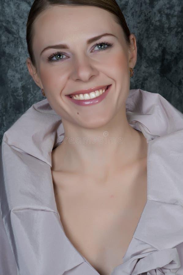 γυναίκα πορτρέτου κινημα& στοκ εικόνες