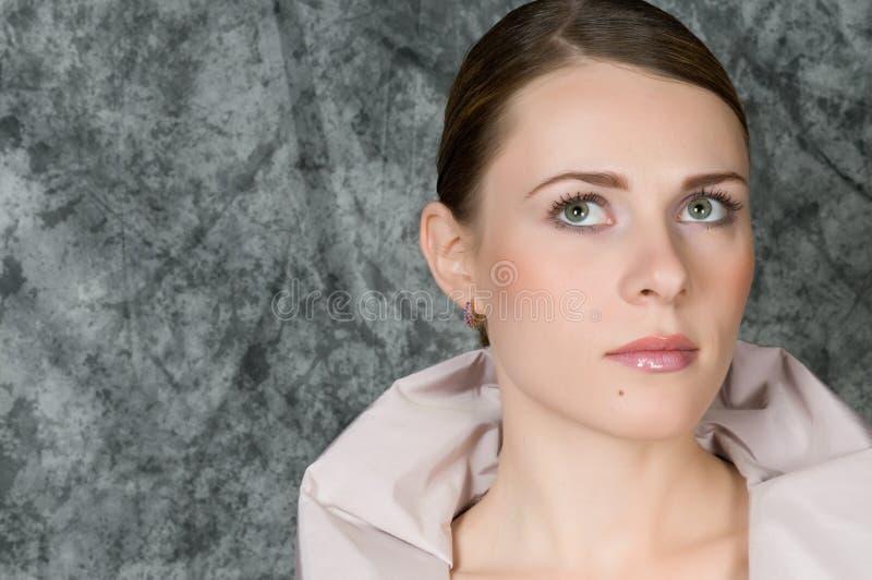 γυναίκα πορτρέτου κινημα& στοκ φωτογραφίες