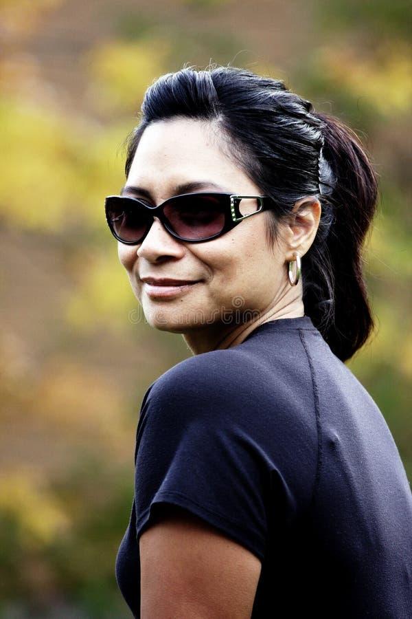 γυναίκα πορτρέτου μόδας στοκ εικόνα