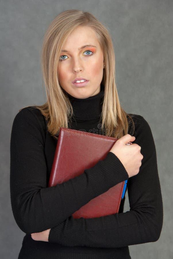 Download γυναίκα πορτρέτου στοκ εικόνα. εικόνα από καυκάσιος, πορτρέτο - 17056933