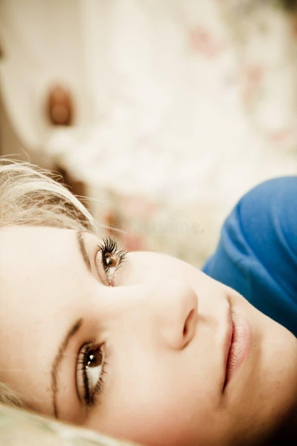 γυναίκα πορτρέτου στοκ φωτογραφία με δικαίωμα ελεύθερης χρήσης