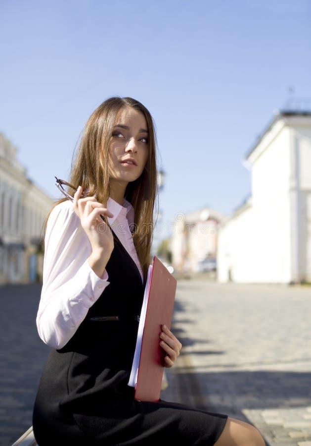 γυναίκα πόλεων στοκ εικόνες με δικαίωμα ελεύθερης χρήσης