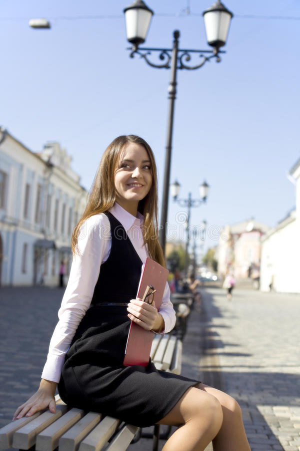 γυναίκα πόλεων στοκ εικόνα με δικαίωμα ελεύθερης χρήσης