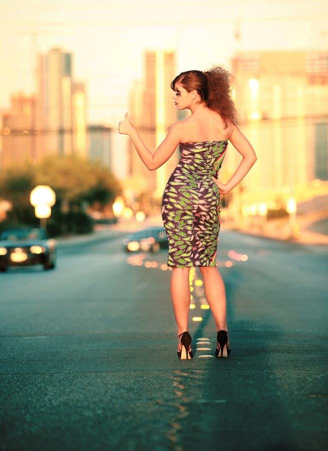 γυναίκα πόλεων στοκ εικόνα