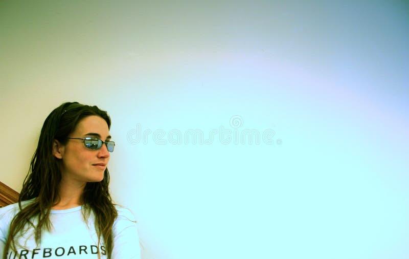 γυναίκα σπουδαστής Στοκ φωτογραφία με δικαίωμα ελεύθερης χρήσης