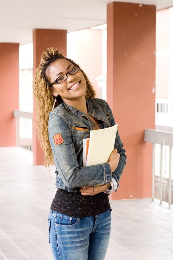 γυναίκα σπουδαστής στοκ εικόνα