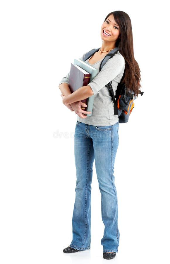γυναίκα σπουδαστών στοκ φωτογραφία