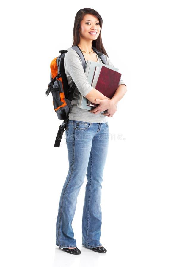 γυναίκα σπουδαστών στοκ εικόνα με δικαίωμα ελεύθερης χρήσης