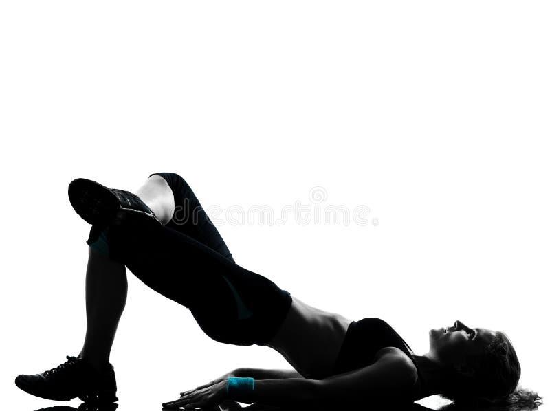 γυναίκα στάσης ικανότητα&sigma στοκ εικόνες με δικαίωμα ελεύθερης χρήσης