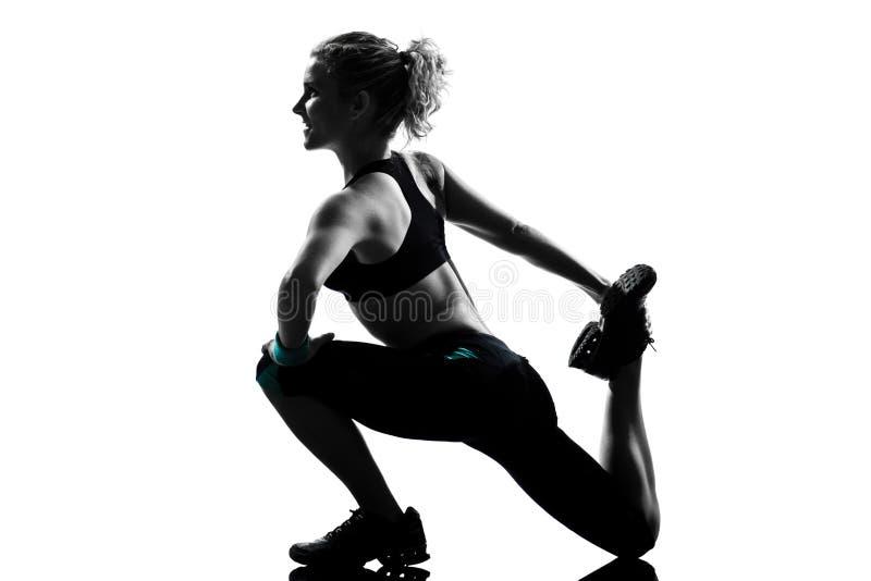 γυναίκα στάσης ικανότητα&sigma στοκ φωτογραφία με δικαίωμα ελεύθερης χρήσης