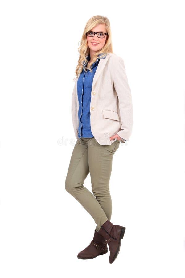 Γυναίκα στην επιχείρηση στοκ εικόνες