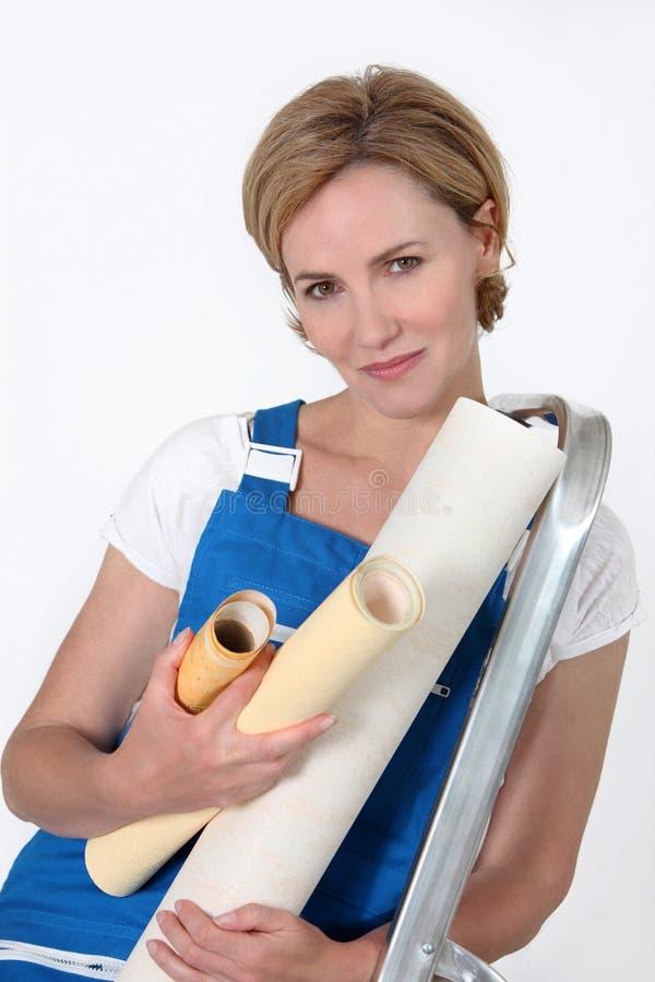 γυναίκα συνεδρίασης σκ&al στοκ φωτογραφία με δικαίωμα ελεύθερης χρήσης
