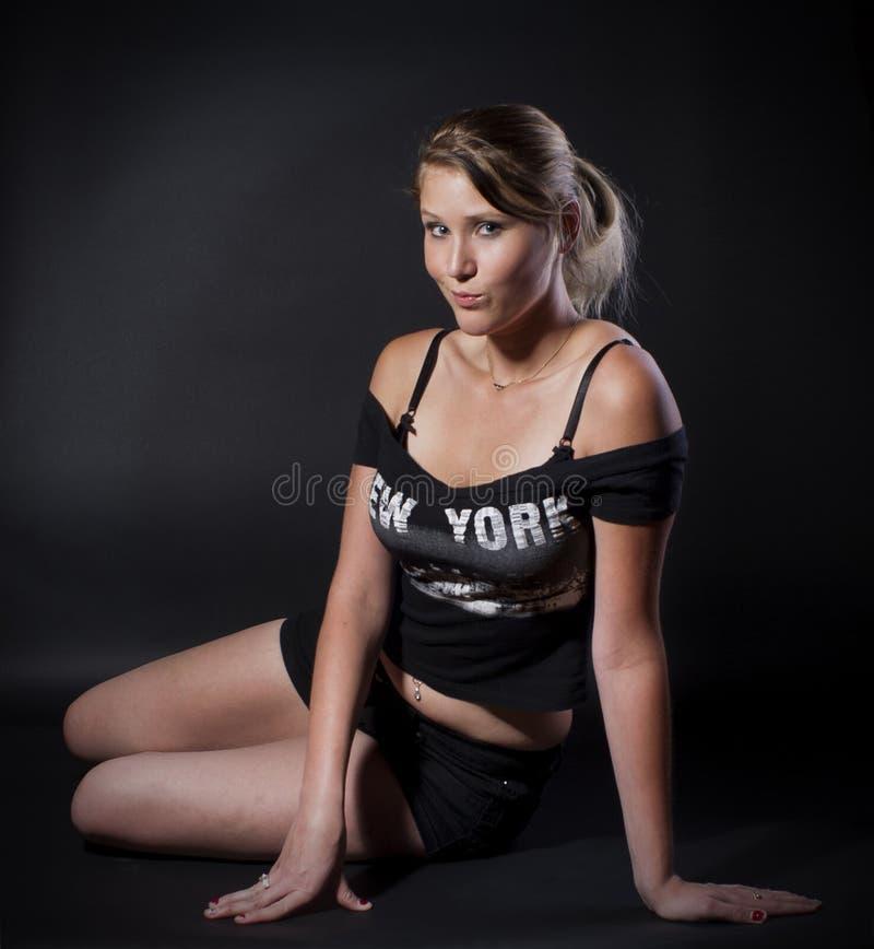 Γυναίκα της Νέας Υόρκης στοκ εικόνες