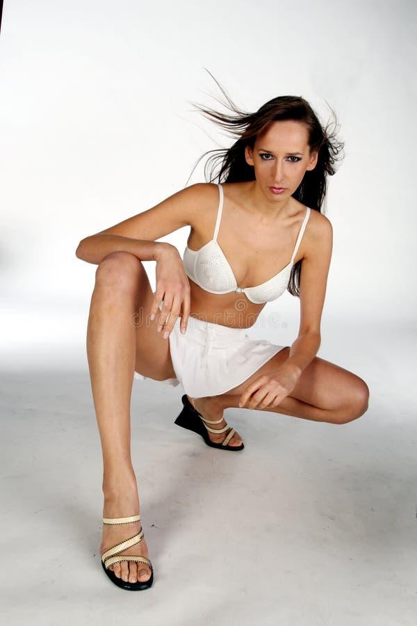 γυναίκα φουστών στοκ φωτογραφία με δικαίωμα ελεύθερης χρήσης