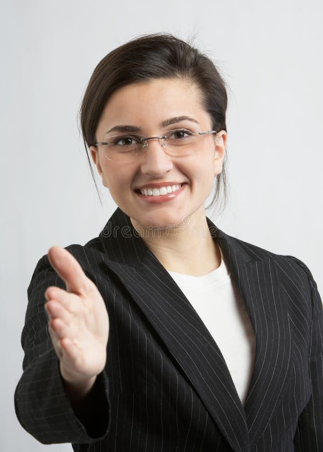 γυναίκα χειραψιών στοκ φωτογραφίες
