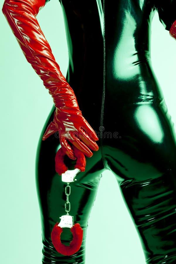 γυναίκα χειροπεδών στοκ εικόνες με δικαίωμα ελεύθερης χρήσης