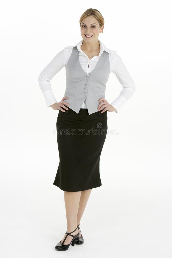 γυναίκα όψης επιχειρησι&alph στοκ εικόνα με δικαίωμα ελεύθερης χρήσης