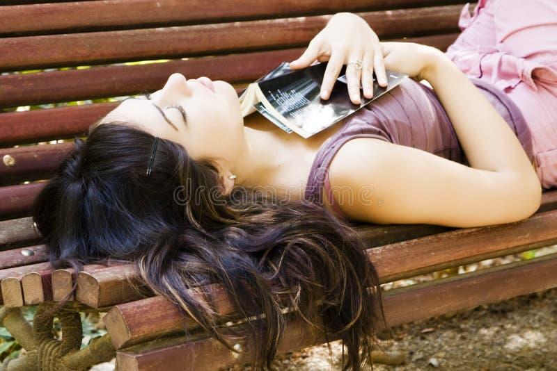 γυναίκα ύπνου στοκ φωτογραφίες