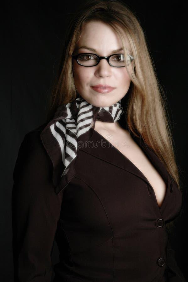 γυναίκα 12 επιχειρήσεων Στοκ Εικόνες