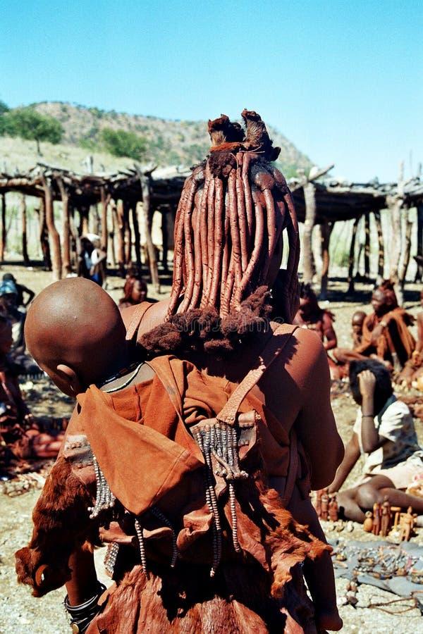 γυναίκα himba στοκ εικόνα