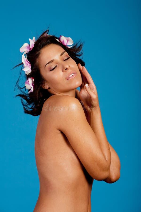 γυναίκα SPA στοκ φωτογραφία με δικαίωμα ελεύθερης χρήσης