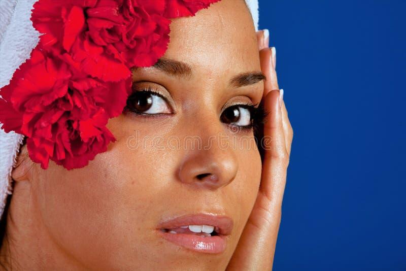 γυναίκα SPA στοκ φωτογραφίες με δικαίωμα ελεύθερης χρήσης