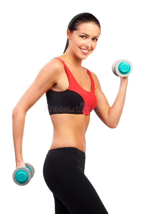 γυναίκα workout στοκ εικόνα με δικαίωμα ελεύθερης χρήσης