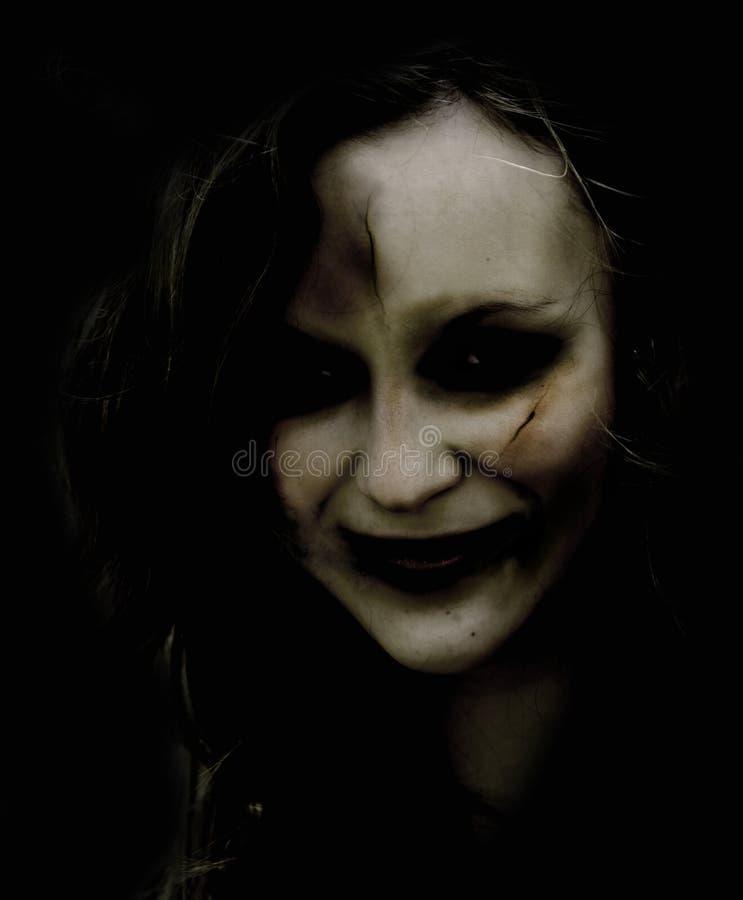 γυναίκα zombie στοκ φωτογραφία με δικαίωμα ελεύθερης χρήσης