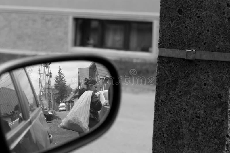 Γυναίκες επαιτών τσιγγάνων στοκ φωτογραφίες με δικαίωμα ελεύθερης χρήσης