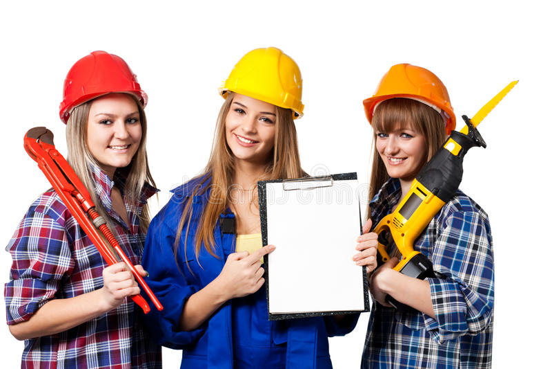 γυναίκες εργαζόμενοι κ&a στοκ φωτογραφία με δικαίωμα ελεύθερης χρήσης