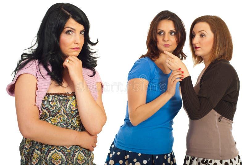 γυναίκες κουτσομπολι στοκ φωτογραφίες